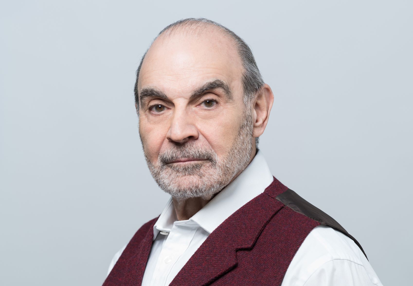 David Suchet: 'Keeping fit will hopefully give me 10 more years of life as an actor'