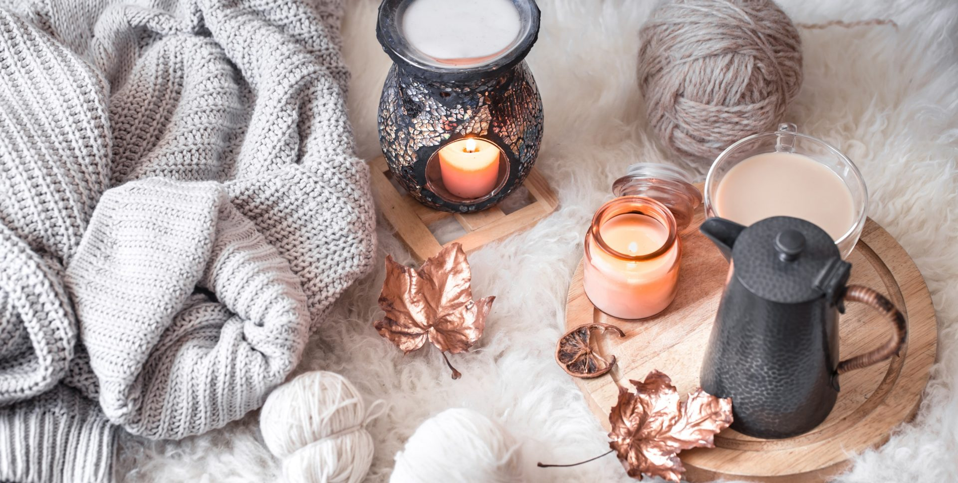 Ten easy ways to cosy up the home for winter