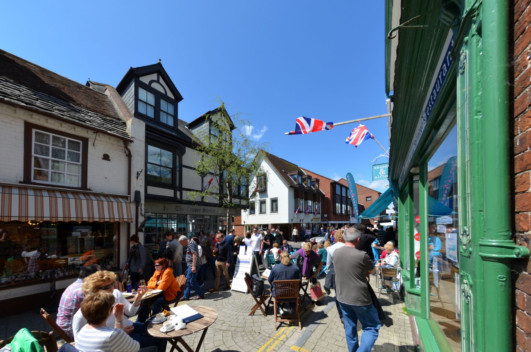 Happiest places to live in Britain revealed by survey