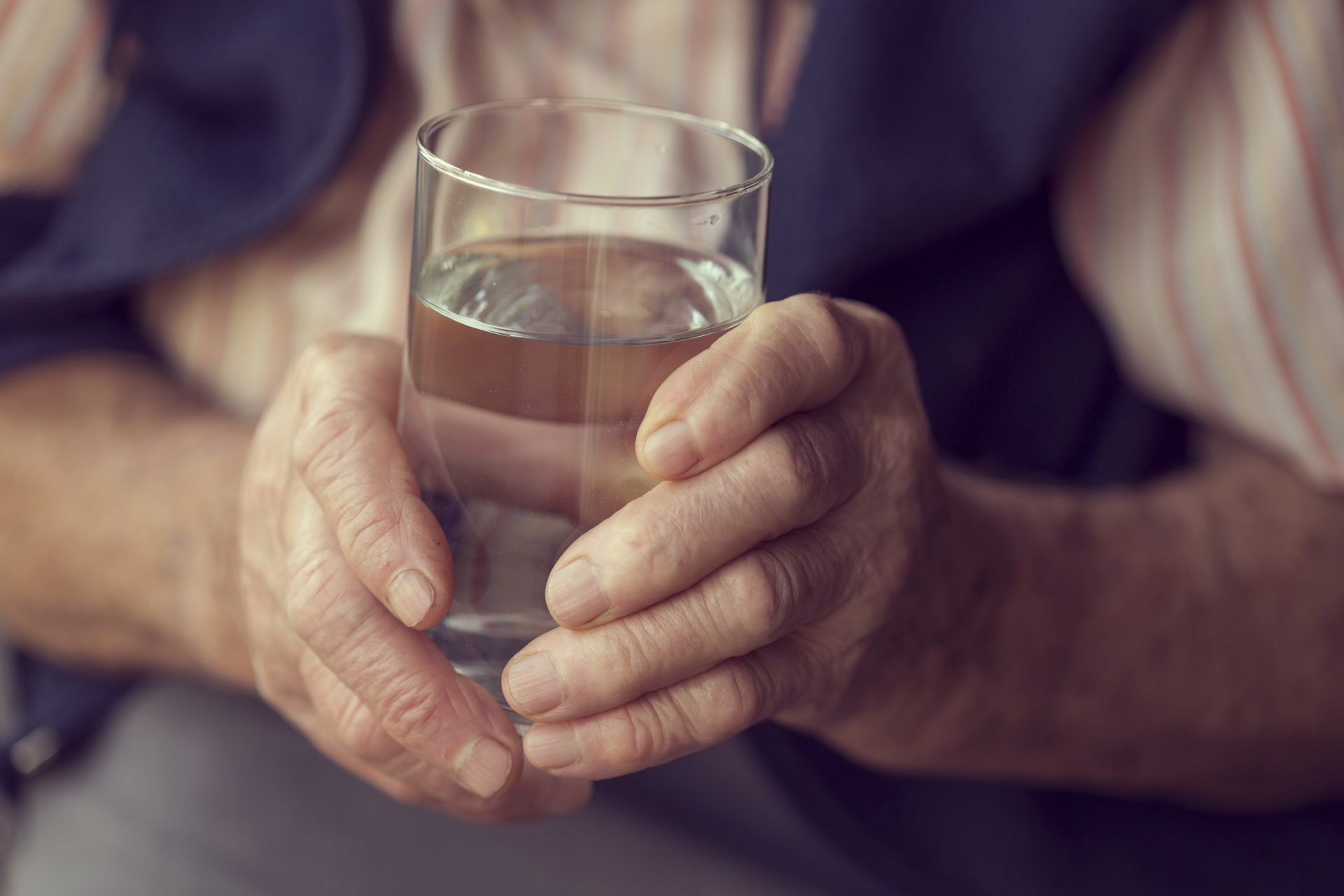 Here's why drinking enough water might be even more important for older people