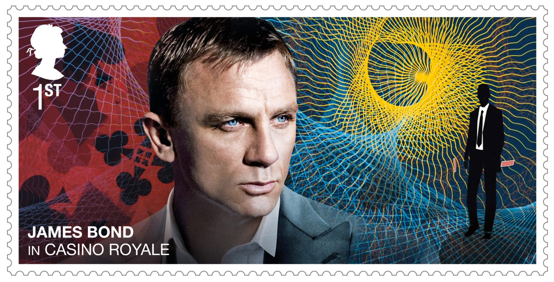 Stamps to celebrate James Bond films ahead of new movie