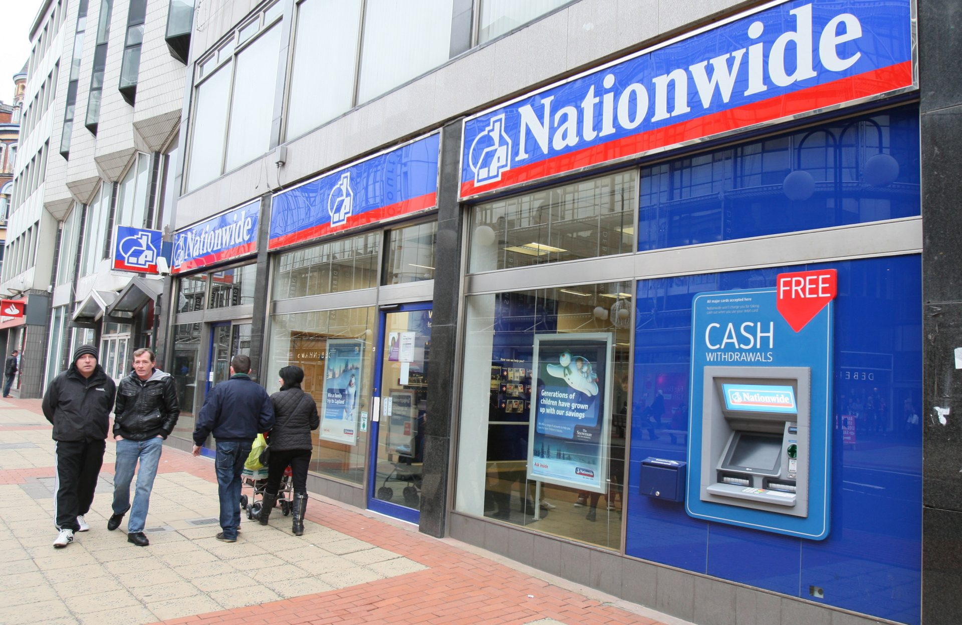 Nationwide Building Society opens branches early for elderly and vulnerable