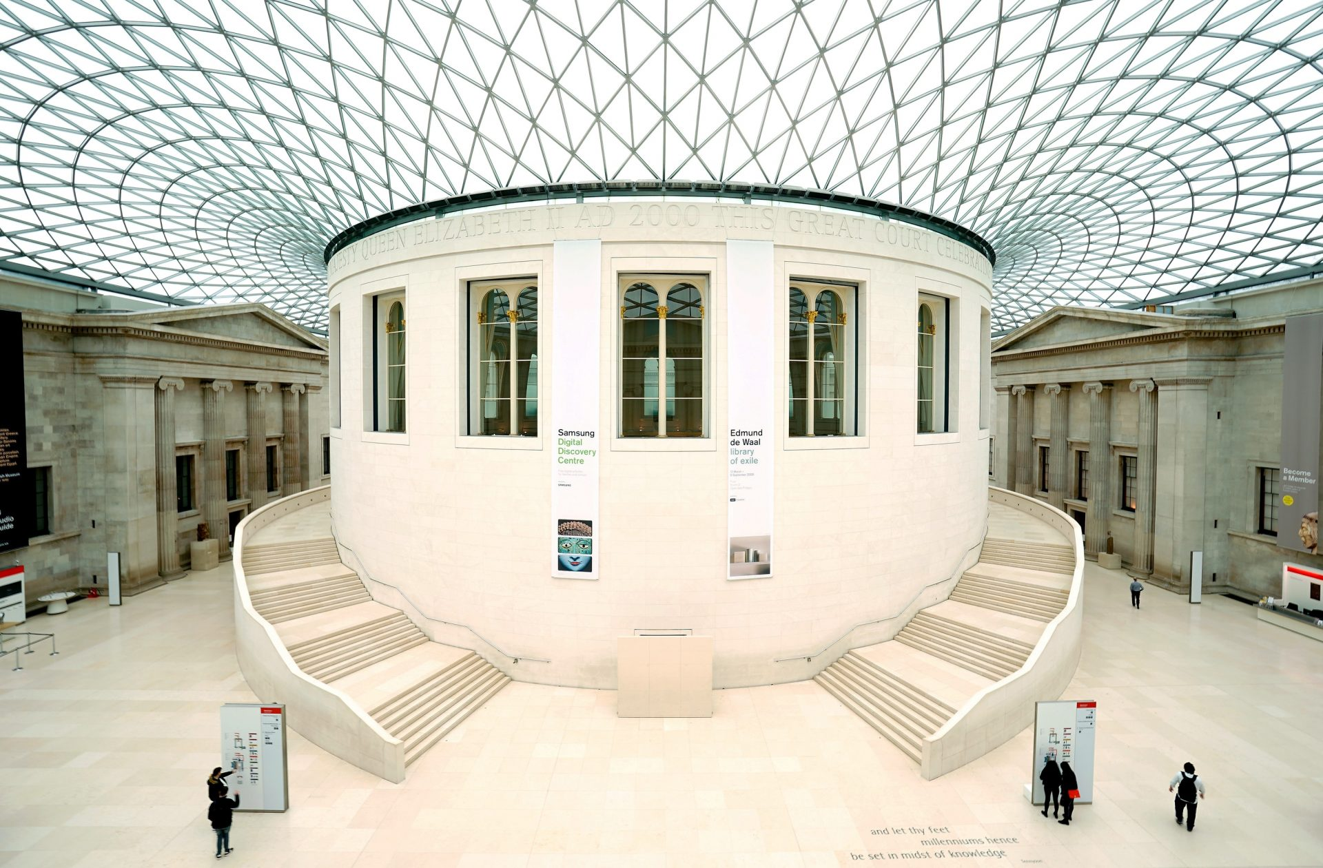 British Museum: Doors are closed but more people are visiting online