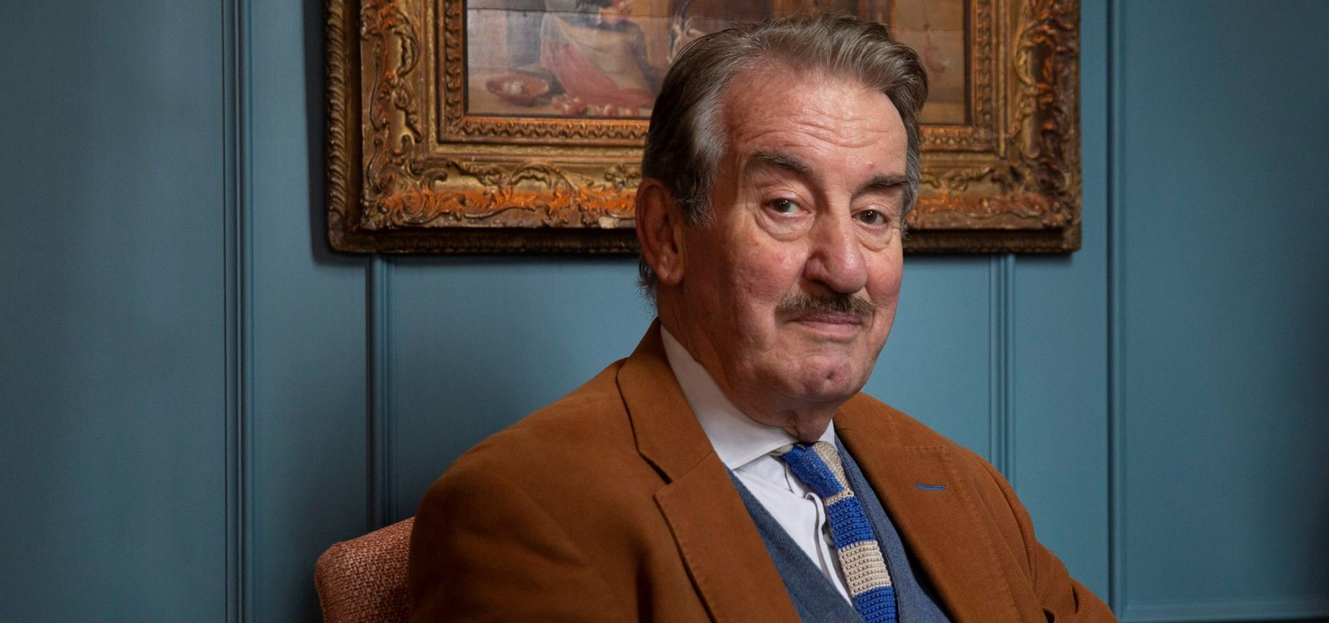 John Challis: 'You only really regret what you don't do in life'