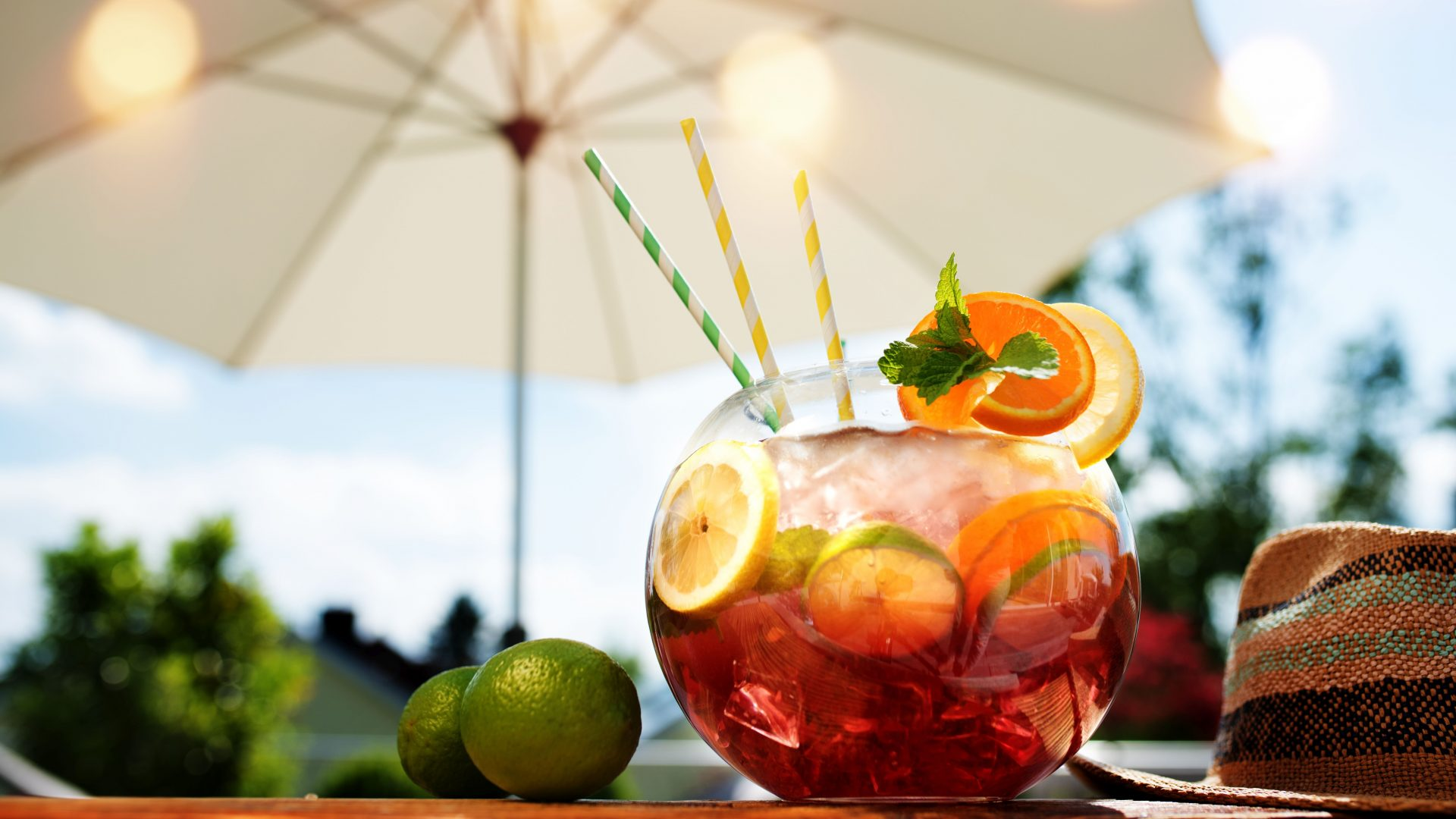 6 perfect drinks for a sunny day