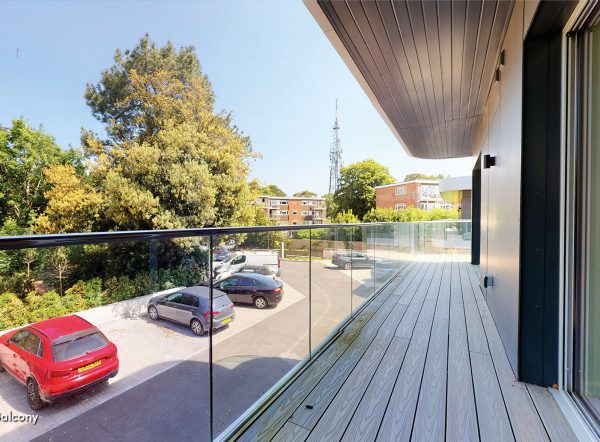 Car park at Vista retirement living in Bournemouth